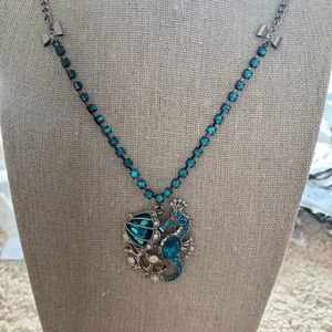 Betsey Johnson sea necklace